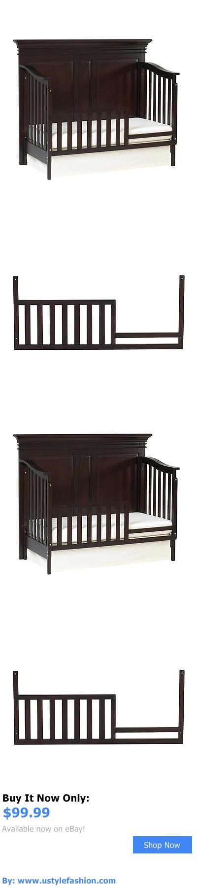 Nursery Furniture Sets: Baby Cache Vienna Toddler Guard Rail - Espresso BUY IT NOW ONLY: $99.99 #ustylefashionNurseryFurnitureSets OR #ustylefashion