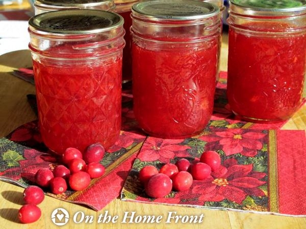 Cranberry Orange Marmalade