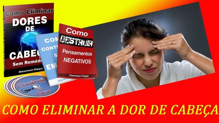 Como Eliminar Dor De Cabeça - http://dicasdecomo.com/dor-de-cabeca/ - A dor de cabeça é um mal frequente que ataca muitas pessoas diariamente. A tensão, a má...