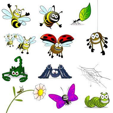 Bug cartoons