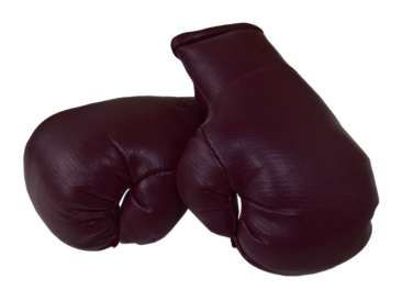 Mini Boxhandschuhe Burgundy