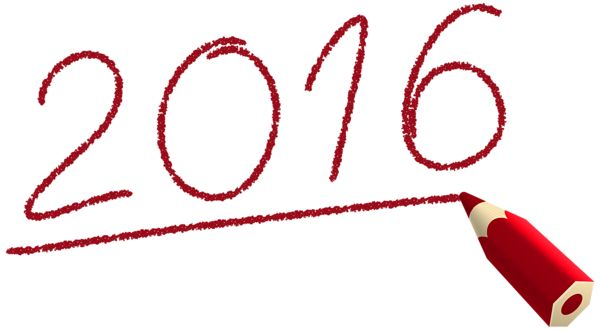 Deco 2016 with Pencil PNG Clipart Image