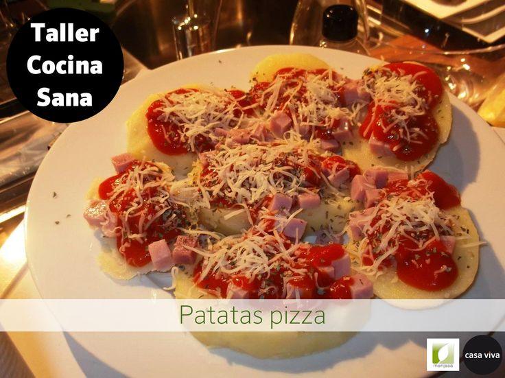 Receta de cocina saludable patatas y pizzas una receta for Reloj cocina casa viva