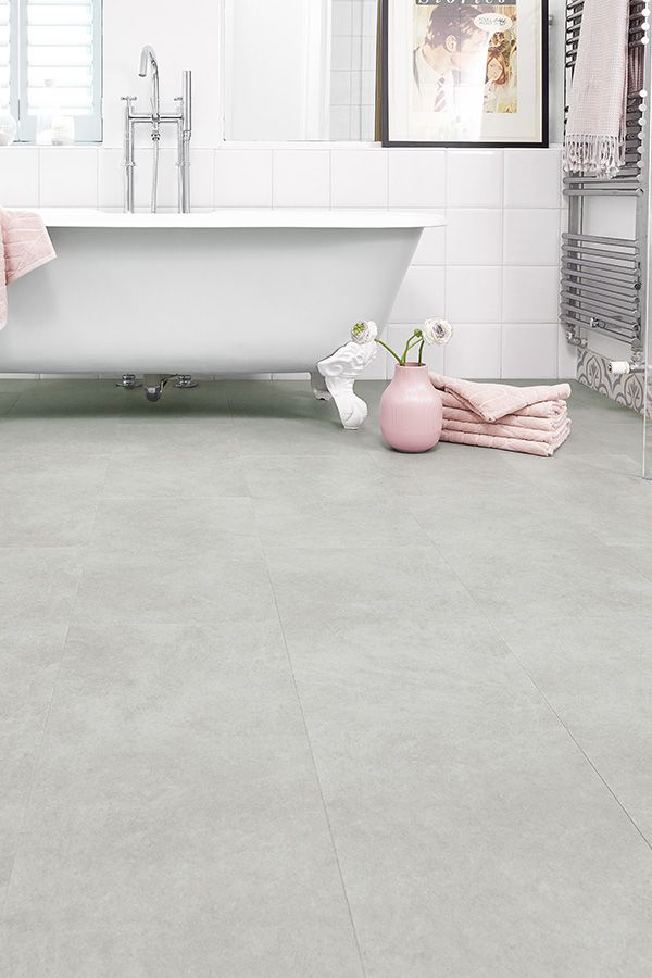 Spectra Light Grey Cement Tile Luxury