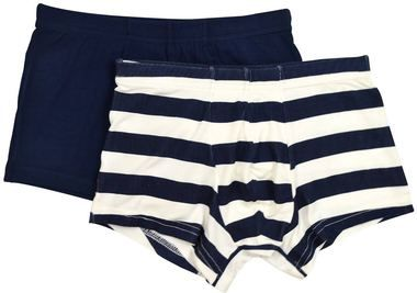 Your little ones will love their new underwear set! Including 2 pairs of boxers in great colours and fun designs, this set includes a black and white striped pair and a plain black pair.