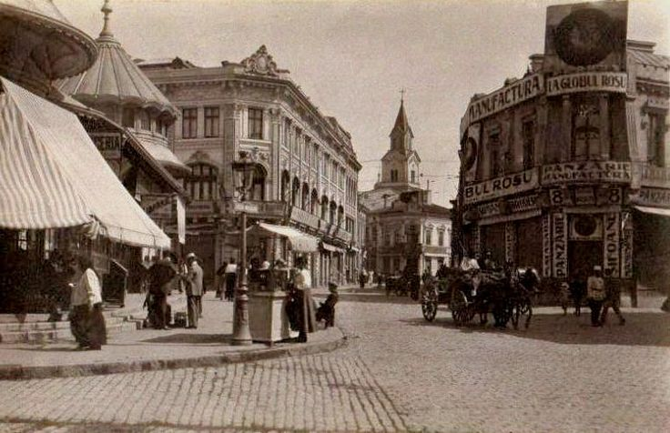 Old Court Church Square, Bucharest 1918