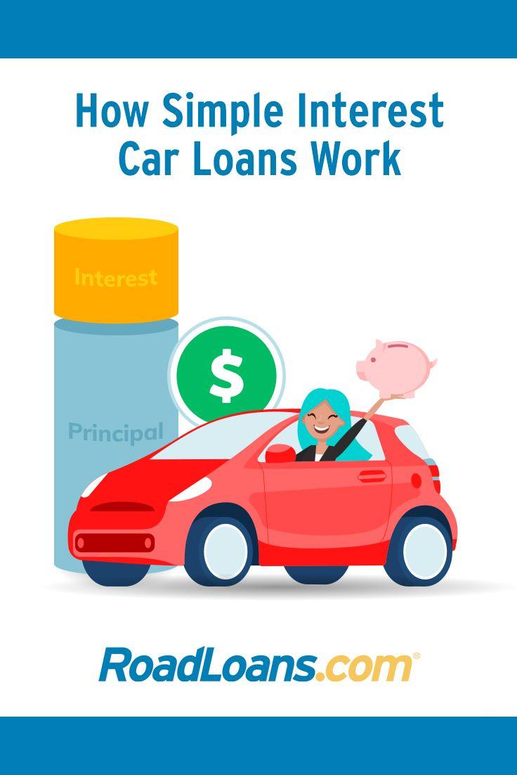 How A Simple Interest Car Loan Works Roadloans Car Loans Simple Interest Types Of Loans