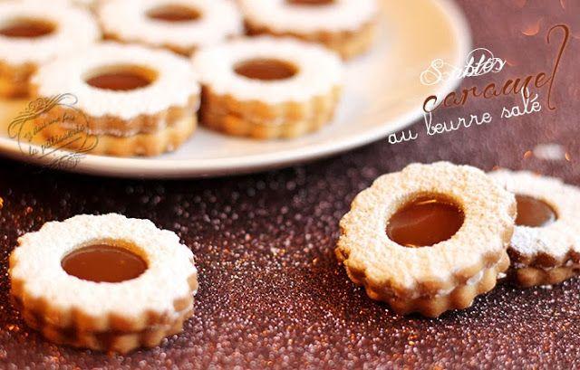 Il était une fois la pâtisserie...: Sablés au caramel au beurre salé