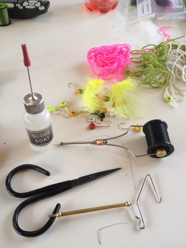 Here is a photo of the supplies you will need.  A vise is not shown but needed.