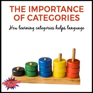 Did you know that the ability to categorize is foundational for cognitive and language skills? Check out this post to find out why categories are so important as well as ideas for to work on them.
