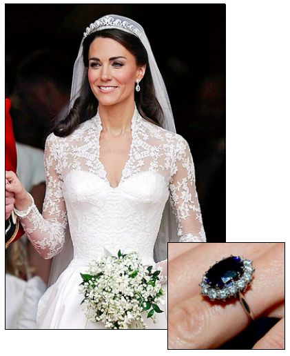 KATE MIDDLETON was famously presented with Princess Diana's sapphire engagement ring when William proposed in 2009. Their 2010 wedding was one for the record books.