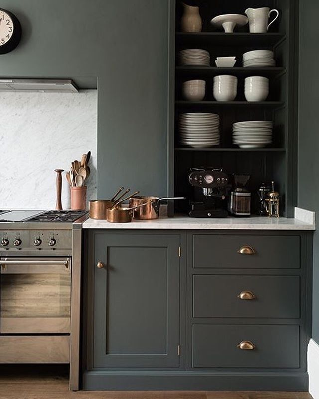 Dark Grey Shaker Kitchen: Kitchen Trends & Design: A Collection Of Ideas To Try