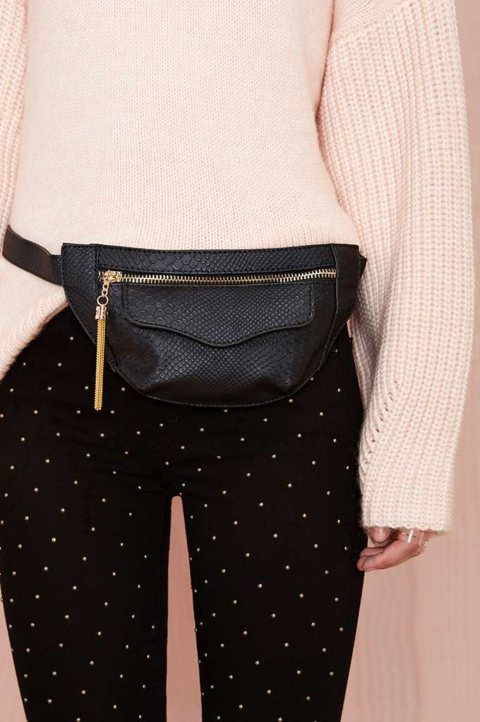 Leather Fanny Pack!