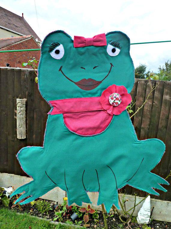 Handmade peg bags peg bag hand made Frog by KelwayCraftsYorkshir, £4.93
