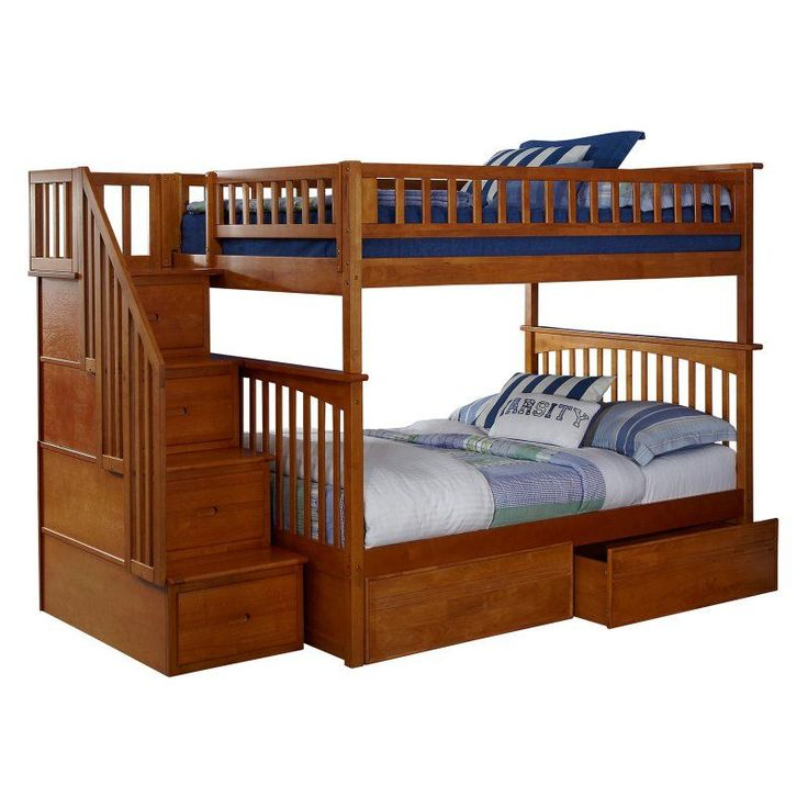 17 Best Ideas About Full Bunk Beds On Pinterest Girls