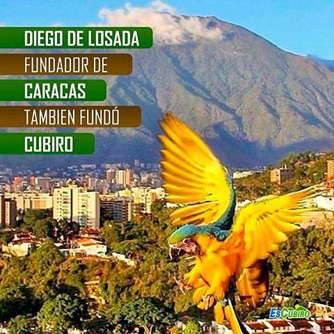 Un día como hoy 25 de Julio de 1567 #DiegoDeLosada funda la Ciudad de #Caracas algunos años antes el 20 de Diciembre de 1546 fundó el pueblo de #Cubiro