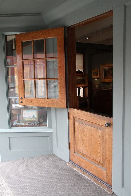 Split Door To An Antique Store In 2019 Farm Life