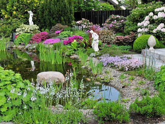 Best Teich schaffen Gartenbau Beautiful peaceful design