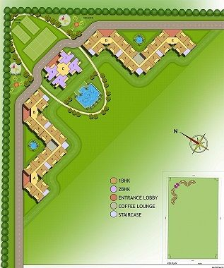 Site Plan- Residential Apartment.