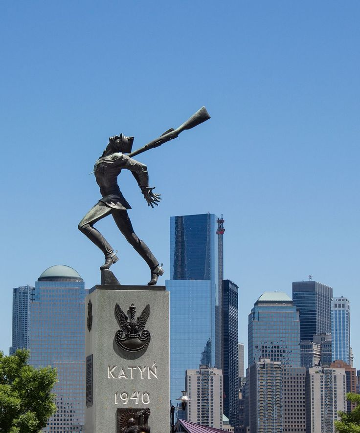 Image result for Memorial to the Katyn Massacre, Jersey City, NJ.