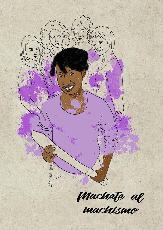 Ilustración digital  Mónica Jiménez