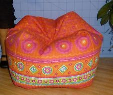 Floral Tropics Bean Bag Chair made to fit American Girl dolls