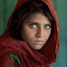 Peshawar, Pakistan, 1984  #Exhibition #SteveMcCurry #Brussels #Travel #Photography #Photographer #littleafghangirl