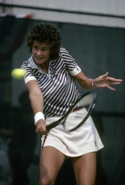 Pam Schriver US Open 1980