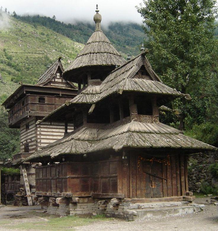 Temple Texas Traditional Home: Maheshwar Temple, Chergaon (Chagaon), Himachal Pradesh