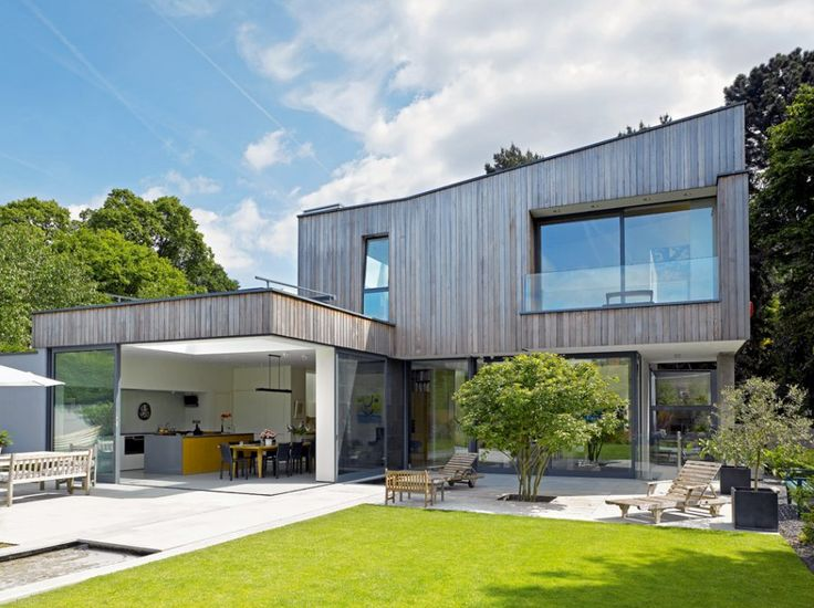 ILike the tree in the middle of the patio area - Grand Designs Magazine