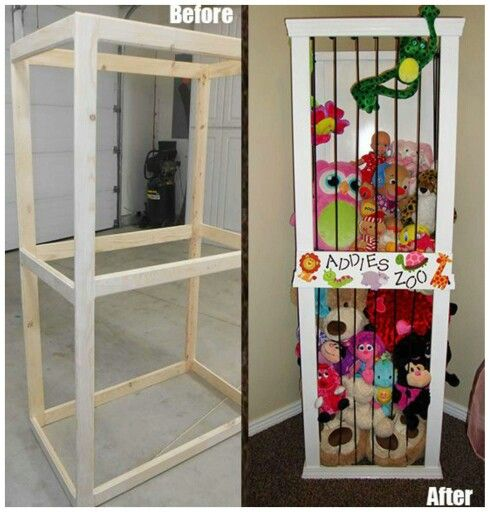 Best 25 Stuffed Animal Holder Ideas On Pinterest