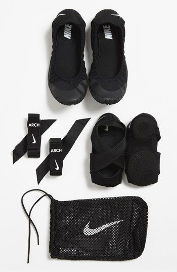 Nike 'Studio Wrap Pack' Training Shoe (Women) - this sounds great for anyone who takes yoga, Pilates, or Bar Method classes. Can't wait to try them out!