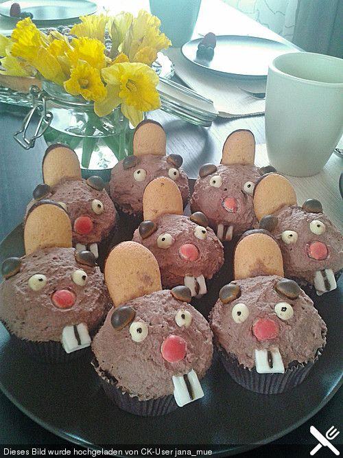 Biber-Cupcakes - wow! Namensvettern ...