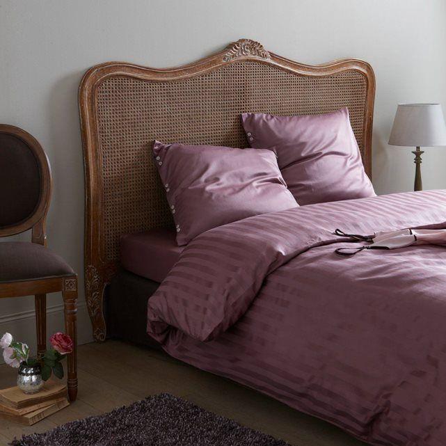 Image Tte de lit cannage de rotin Sydia La Redoute Interieurs  Chambre  Tte de lit cannage