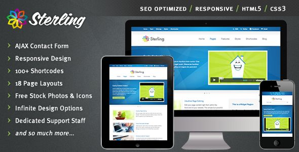 Sterling - HTML5 Responsive Web Template