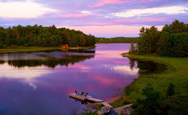 Ontario <3 - I can't wait to be camping somewhere like this in the summer...