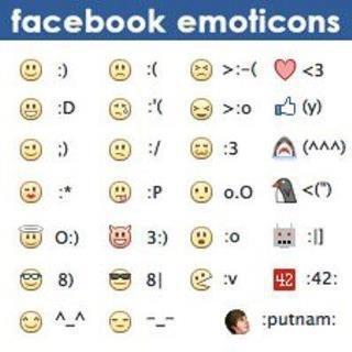 #Facebook #Emoticons