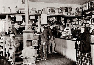 a general store in Maryland, taken in about 1900