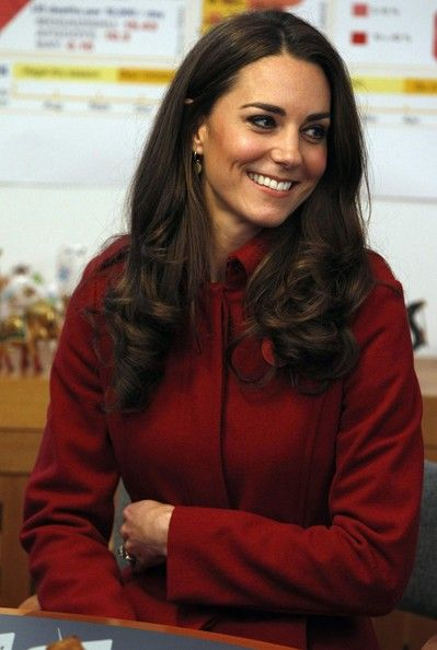 Catherine, Duchess of Cambridge during a visit to the UNICEF Emergency Supply Centre on November 2, 2011 in Copenhagen, Denmark. Catherine, Duchess of Cambridge and Prince William, Duke of Cambridge visited the centre to view efforts to distribute emergency food and medical supplies to eastern Africa where severe food shortages are affecting more than 13 million people.