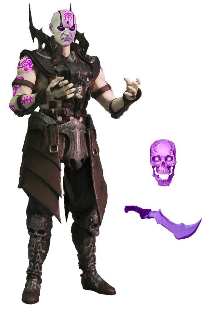 Mortal Kombat X figurine Quan Chi Sorcerer Variant Previews Exclusive Mezco Toys