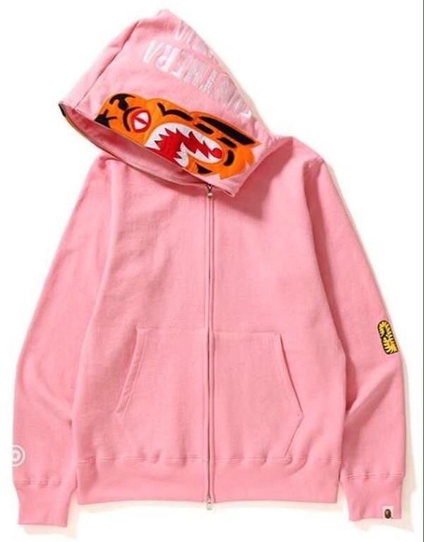 A Bathing Ape Pink Tiger Hoodie Size Large BRAND NEW WITH TAGS BAPE SS18  | eBay
