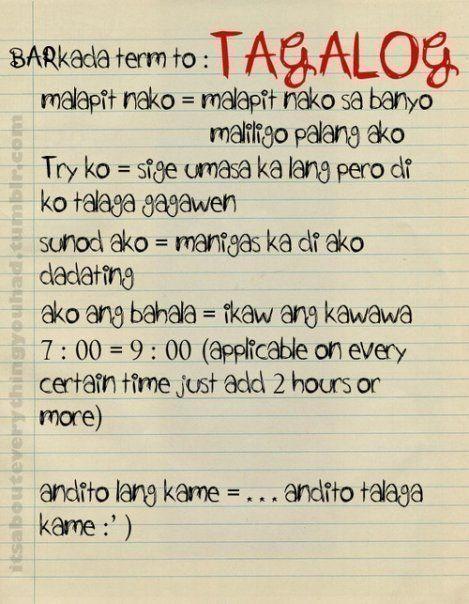 barkada term tagalog funny quotes pinterest funny