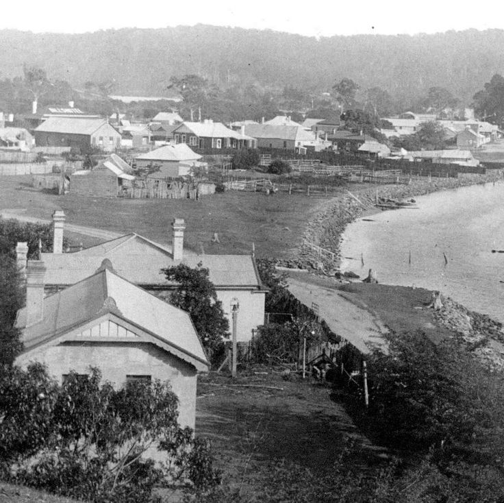 Bateman's Bay on the South Coast of New South Wales in the 1920s.
