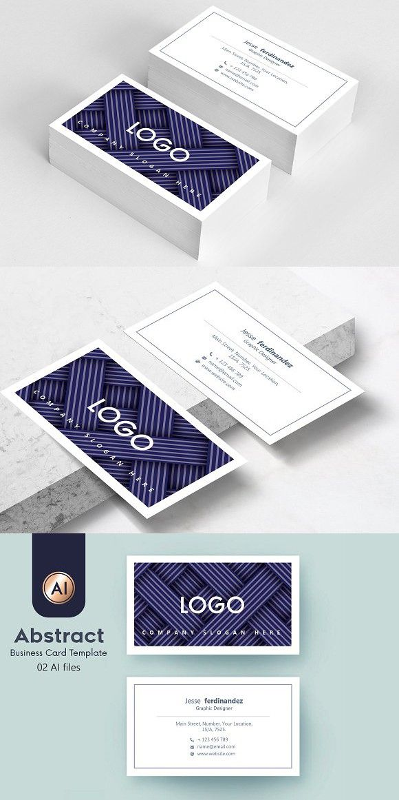 Abstract Business Card Template 39 Business Card Template Double Sided Business Cards Square Business Card