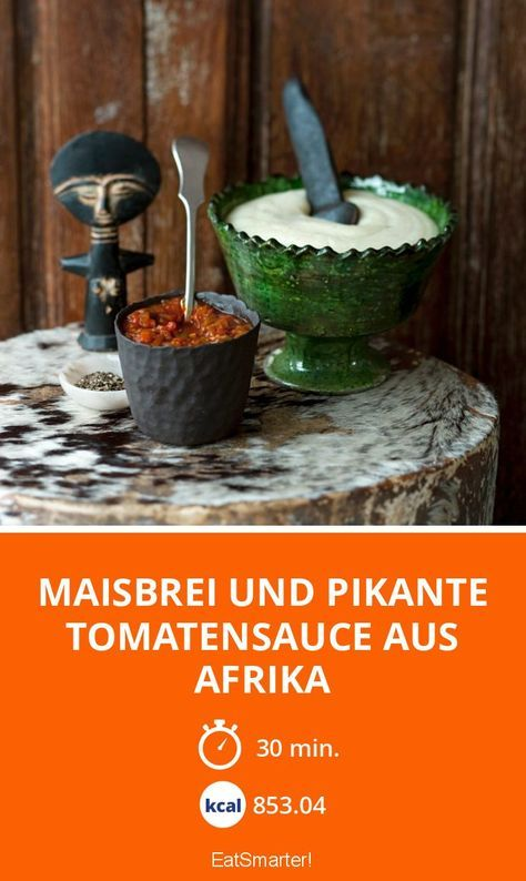 Maisbrei: Ein traditionelles Afrikanisches Essen
