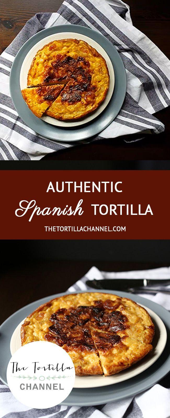 Mit nur drei Zutaten ist es einfach, authentische spanische Tortilla hinzuzufügen.