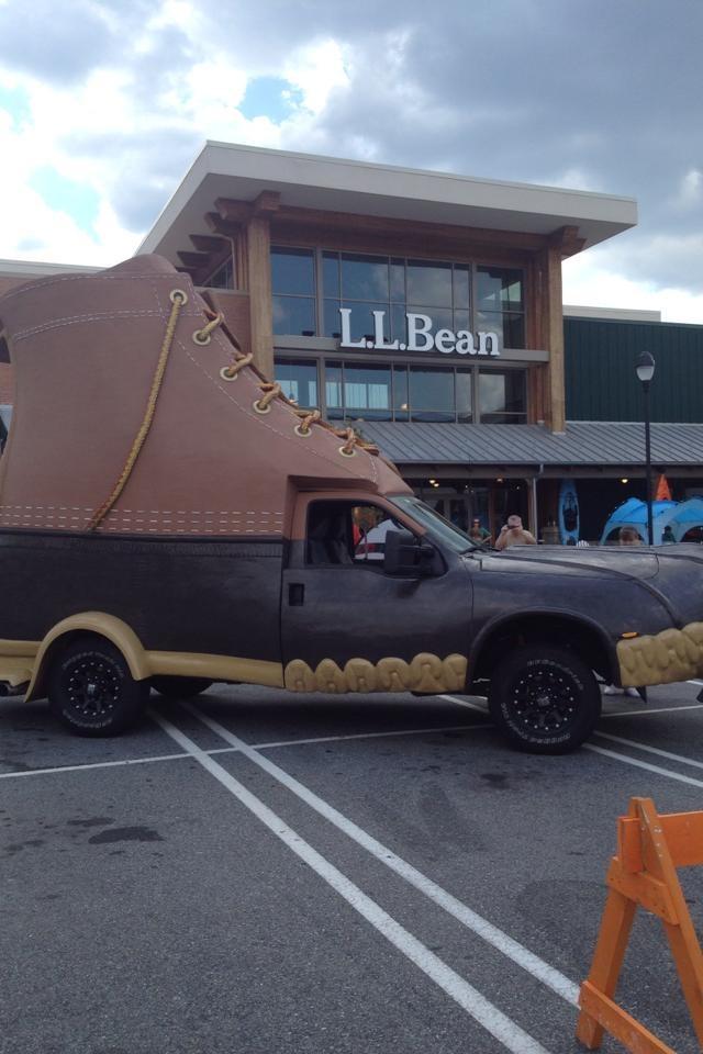 that truck got the boot!