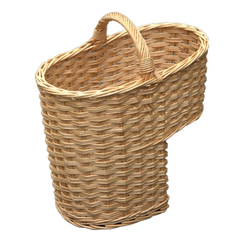 How To Weave A Simple Basket : Ideas about stair basket on stairs