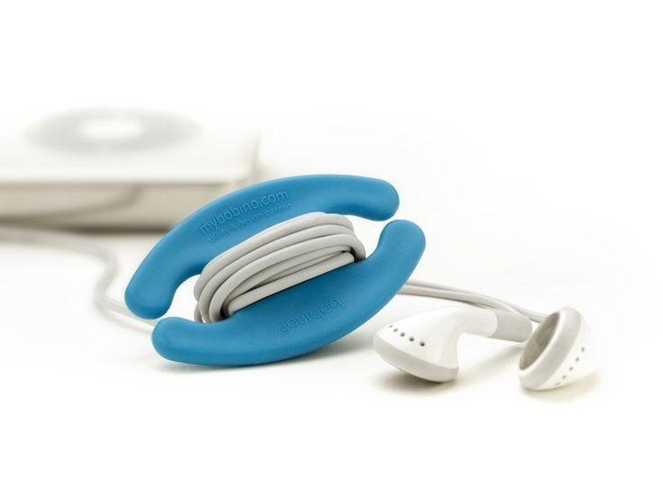 Kabel binder Small Blauw - Bobino