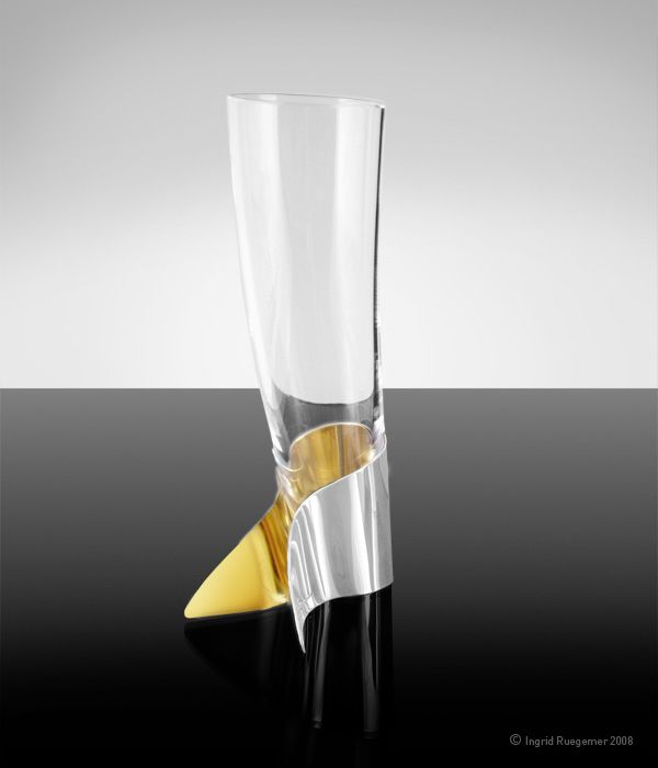 Modern Champagne Glasses:Want - The Insider Out Champage